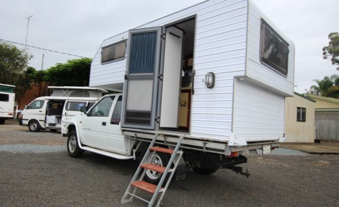 1999 Holden Rodeo 4wd Turbo Diesel With Slide On