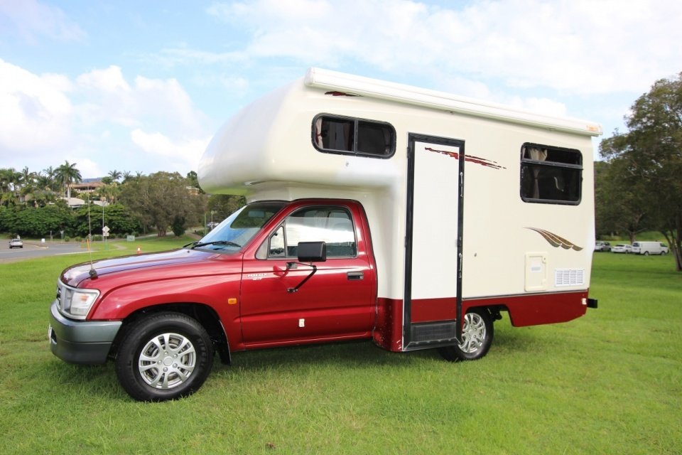 Toyota Hilux Matilda Motorhome Shower and Toilet
