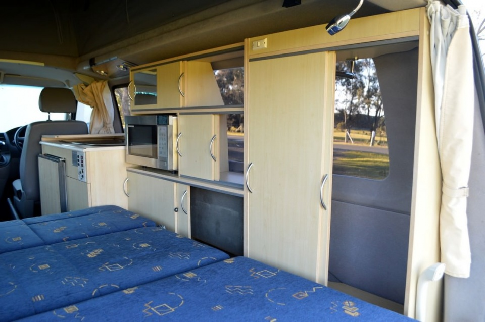 Volkswagen Discoverer Automatic Campervan With 4 Seat
