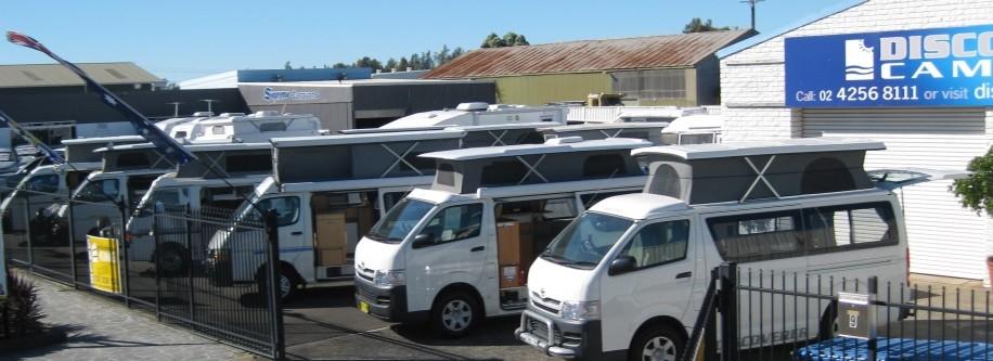 Discover Australia's Largest Campervan Display
