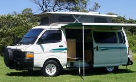 Toyota hiace sunliner campervan